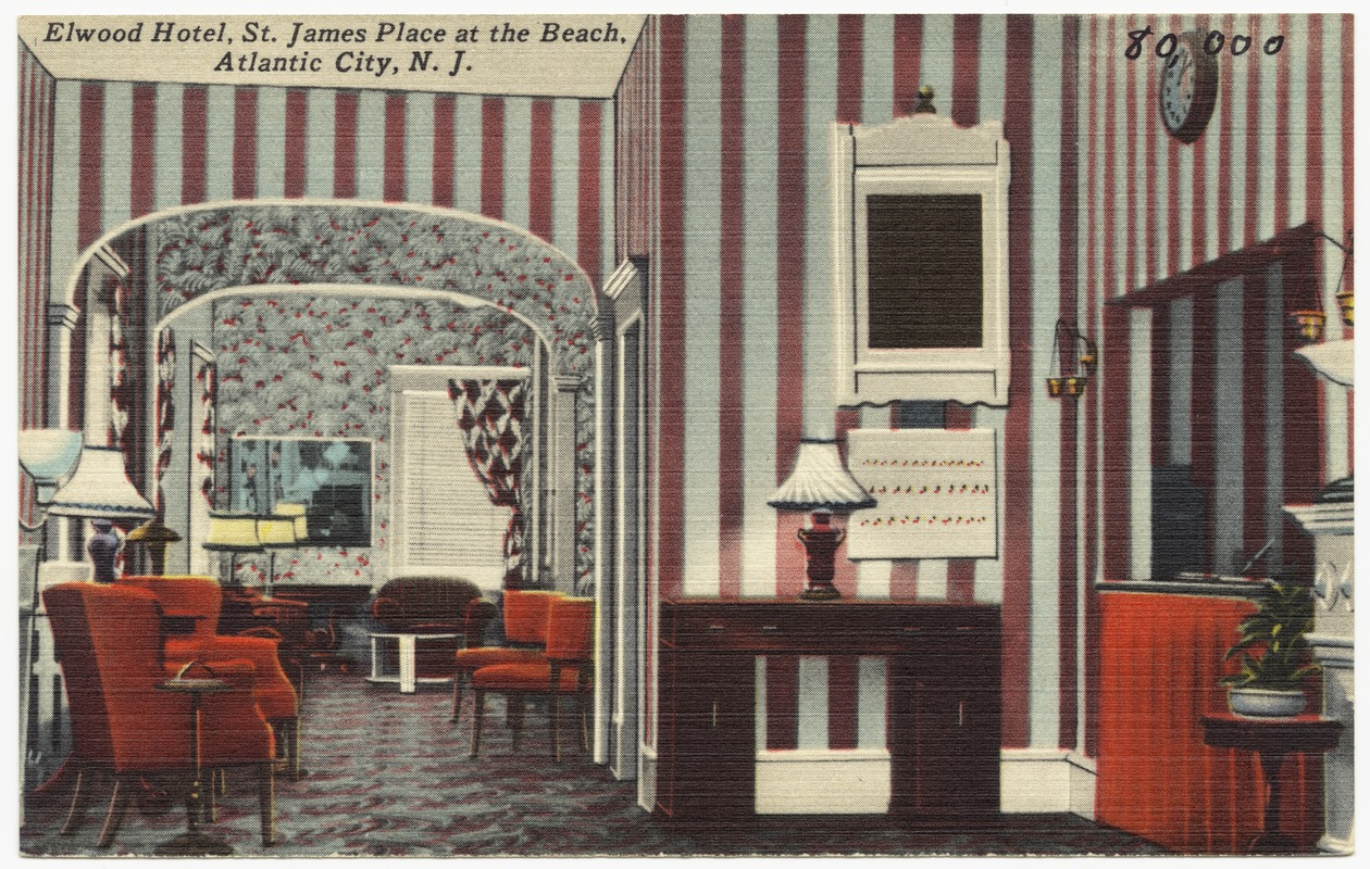 Elwood Hotel, St. James Place at the beach, Atlantic City, N. J.