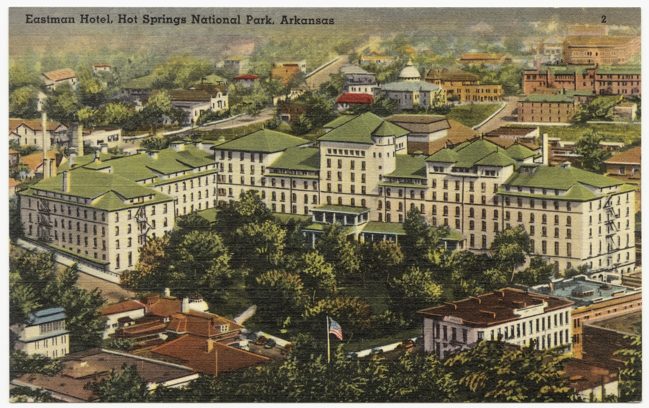 Eastman Hotel Hot Springs National Park Arkansas Digital