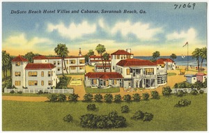 Desoto Beach Hotel Villas And Cabanas Savannah Ga