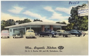 Mrs. Bryant's kitchen, on U.S. routes 301 and 25, Statesboro, Ga.