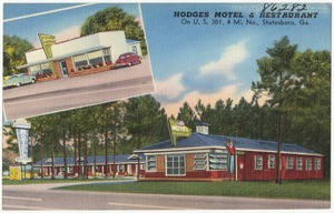 Hodges Motel & Restaurant, On U.S., 301, 4 mi. no., Statesboro, Ga.