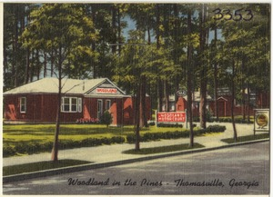Woodland in the Pines, Thomasville, Georgia