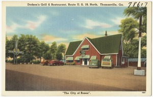 Dodson's Grill & Restaurant, route U.S. 19 north, Thomasville, Ga.