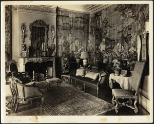 Drawing room (right of fireplace)