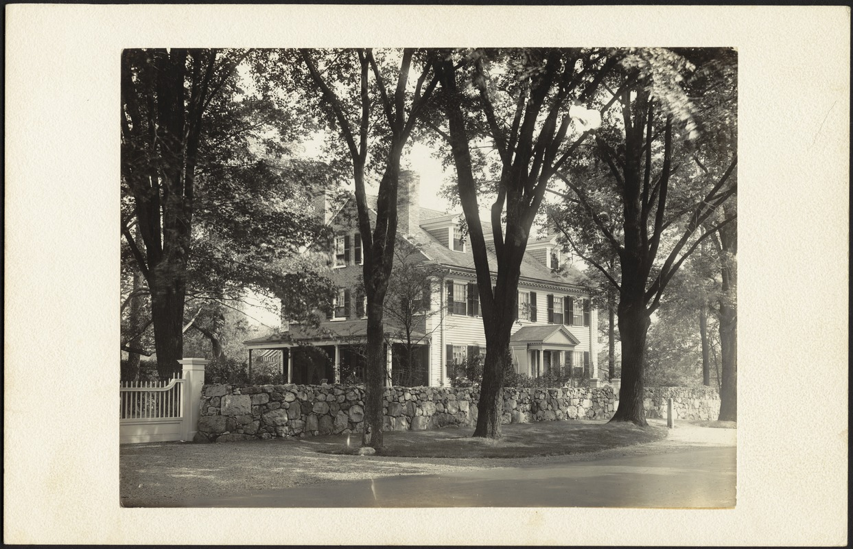 Ashdale Farm. Front of Main House, view from right