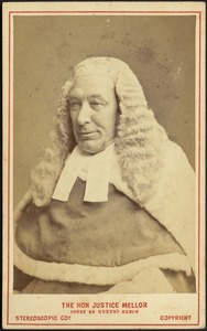 Hon Justice Mellor Court Of Queens Bench