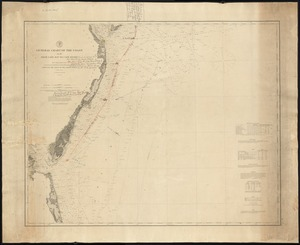 General chart of the coast, No. IV, from Cape May to Cape Henry