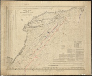 General Chart of the coast, from Gay Head to Cape Henlopen