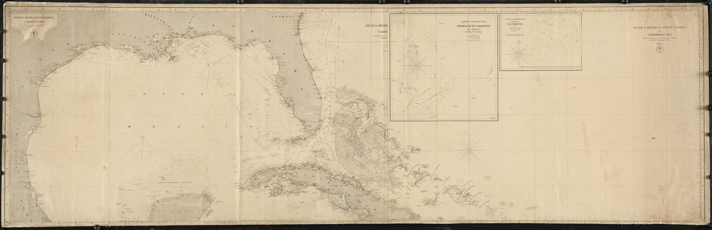 Gulf of Mexico, West Indies, and Caribbean Sea