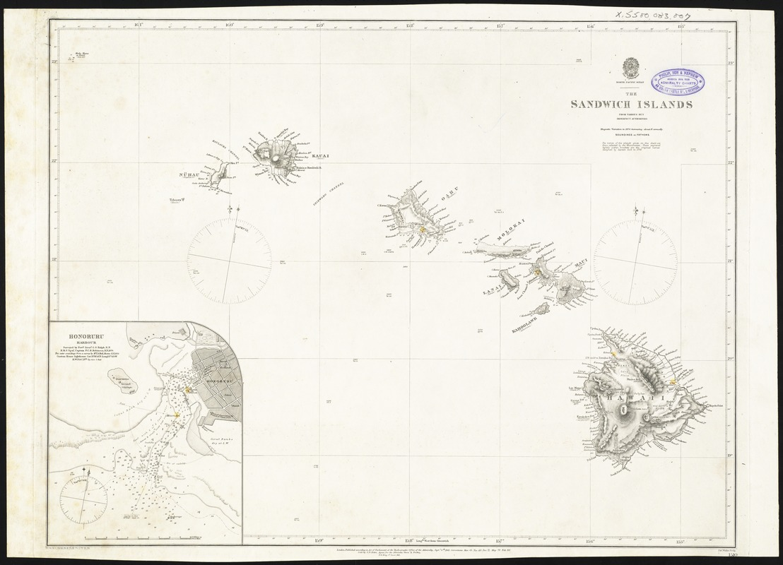 The Sandwich Islands, from various but imperfect authorities