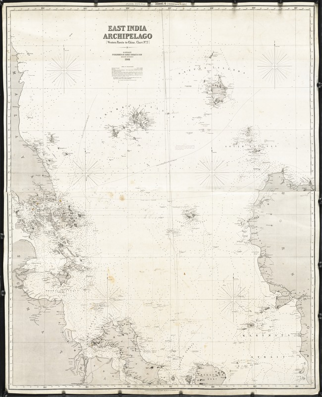 East India Archipelago (West route to China. Chart No. 2)