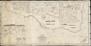 Laurie's general chart of the coasts of Brasil, &c. from the River Para to Buenos-Ayres, with particular plans of the harbors