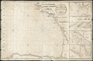 A chart of the Bay of Biscay, with various additions & improvements from the surveys of Tofino, Mechain, & others