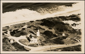 Nauset Light from the air