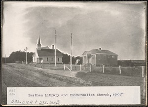 Eastham Library and Universalist Church, 1905