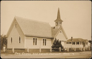 Univ. Chapel and library, Eastham, Mass