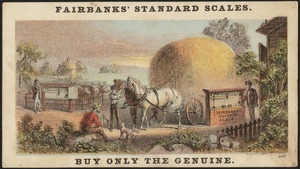 Fairbanks' Standard Scales. Buy only the genuine.