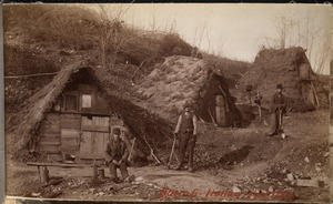 Sudbury Department, Hopkinton Reservoir, Italian shanties, Ashland; Hopkinton, Mass., 1892