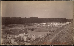 Sudbury Department, Hopkinton Reservoir, Section C, Ashland; Hopkinton, Mass., 1892