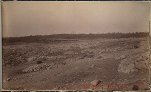 Sudbury Department, Hopkinton Reservoir, stripping, Ashland; Hopkinton, Mass., 1892