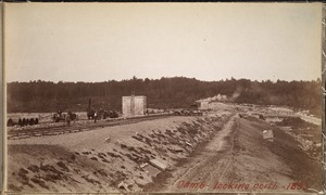 Sudbury Department, Hopkinton Reservoir, looking north, Ashland; Hopkinton, Mass., 1893