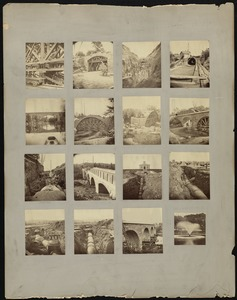 Sudbury Department, Sudbury Aqueduct, Echo Bridge; Waban Bridge; 48-inch pipe line at Chestnut Hill Reservoir, Effluent Gatehouse; Boston Common, Frog Pond Fountain (construction and construction completed), Mass., 1875-1880