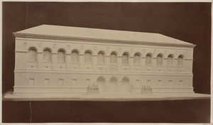 Architect's model of the McKim Building