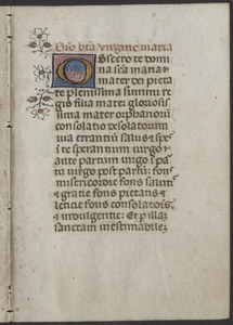 Bifolium from a 15th-century breviary