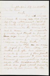 Letter to William Guild, October 21, 1868