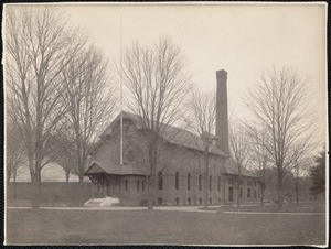 Water works pumping station. Newton, MA
