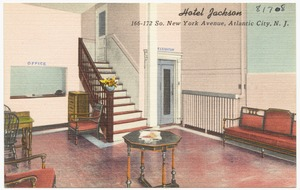 Hotel Jackson, 166-172 So. New York Avenue, Atlantic City, N.J.