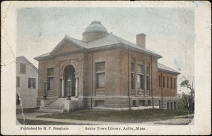 Ashby Town Library, Ashby, Mass.