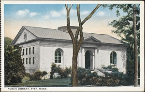 Public library, Ayer, Mass.