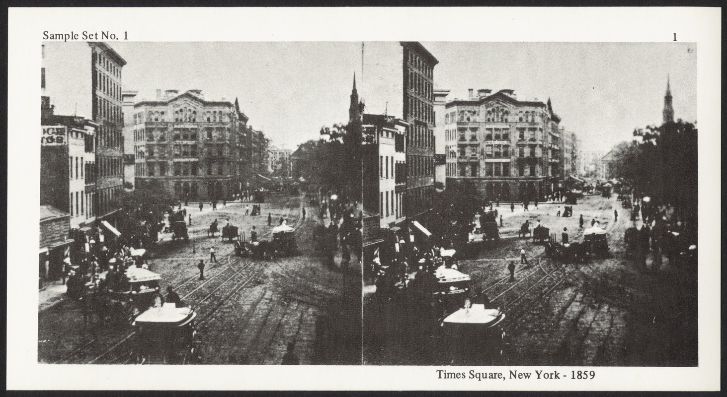 Times Square, New York - 1859