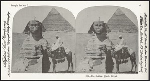 The Sphinx, Gizeh, Egypt