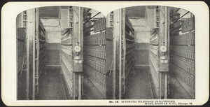 Automatic telephone switchboard