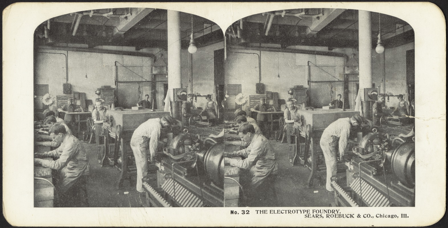 The electrotype foundry