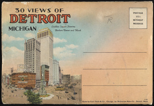 30 views of Detroit, Michigan