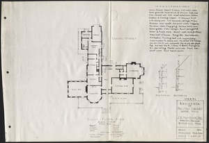 Ethelwyn: first floor plan