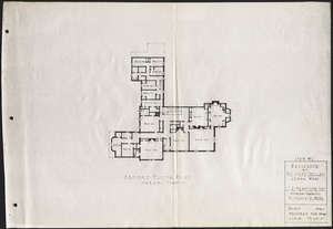 Ethelwyn: second floor plan