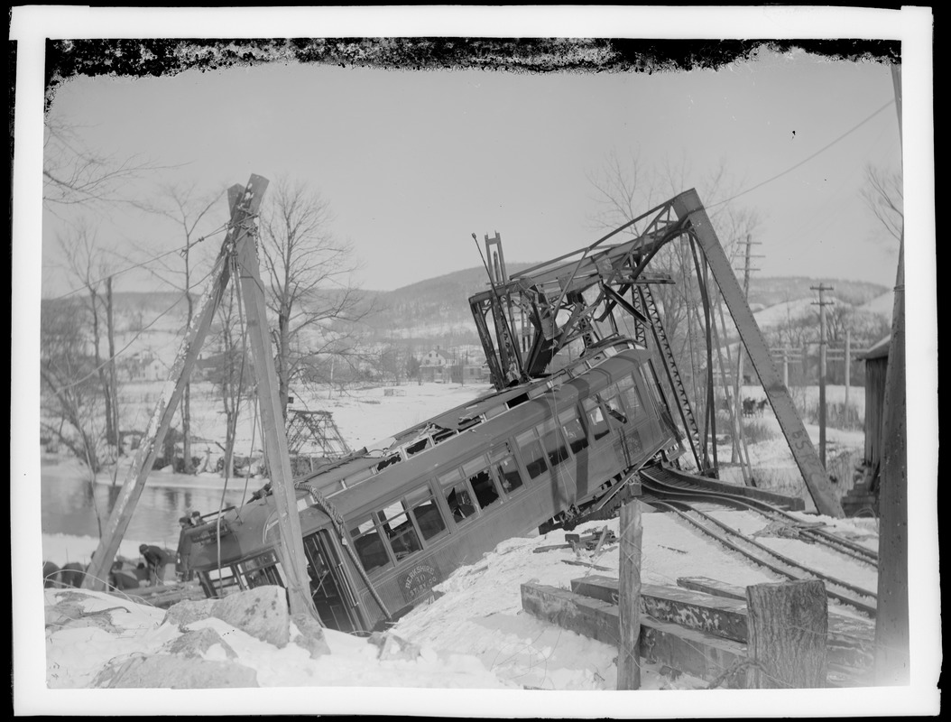 Trolley car crash
