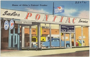 Home of Okla.'s fairest trader, Troy Lambert Pontiac