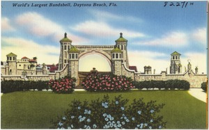 World's larges bandshell, Daytona Beach, Florida