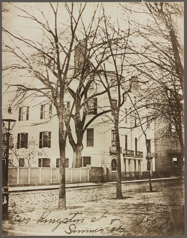 Cor. Kingston St. & Summer St., 1851