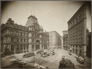 Boston, Massachusetts. Post Office Square