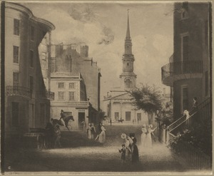 Church Green, Summer Street, 1843