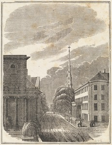 View in Tremont Street, Boston