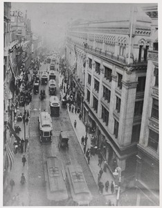 Washington St. looking downtown in 1903 - before days of subway
