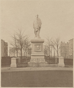 Monument on the Commonwealth Avenue mall