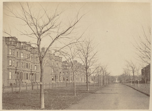 Commonwealth Avenue. North side